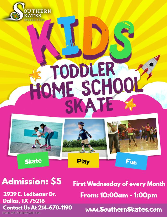 ToddlerHome School Skate Flyer - Made with PosterMyWall